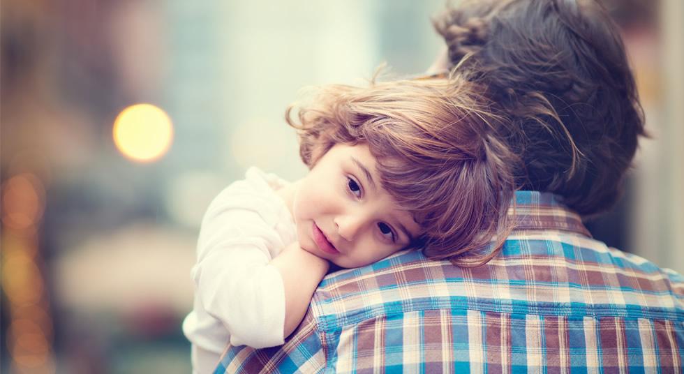 Pedido da criança a seus pais